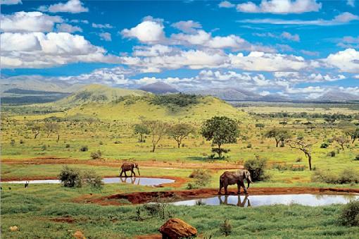 Navštivte originální hotel v africké Keni